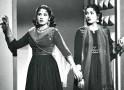 Madhubala with sister Chanchal in Mehlon Ke Khwab