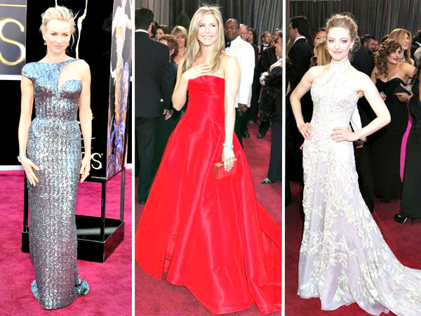 People from all around the world are plugged in to watch the biggest event in the entertainment industry—the 85th Oscar Academy Awards 2013. While we can't wait to see who bags the top awards for best actor, actress and movie (favourites anyone?), we're currently occupied feasting our eyes on who wore what on the celebrated red carpet.
