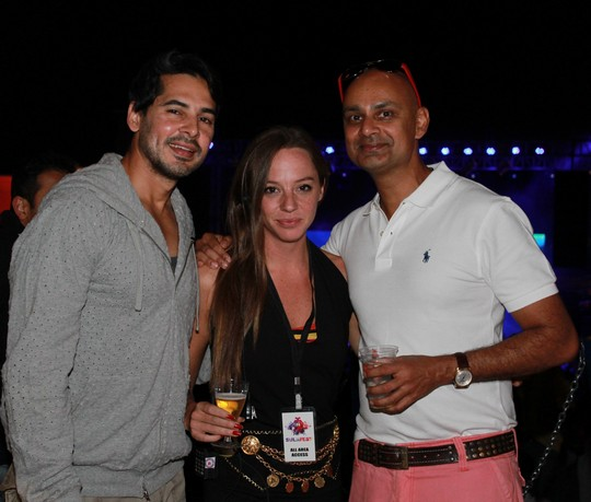 Lida Haydon, Amrita Puri, Dino Morea and a host of socialites and DJs were present at the sixth edition of the popular wine and music festival.Dino Morea; Cecilia Oldne; Global Brand Ambassador & Head - International Business, Rajeev Samant, Founder & CEO, Sula Vineyards at SulaFest 2013
