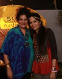 Vivienne Pocha with Mitali Kakkar at SulaFest 2013