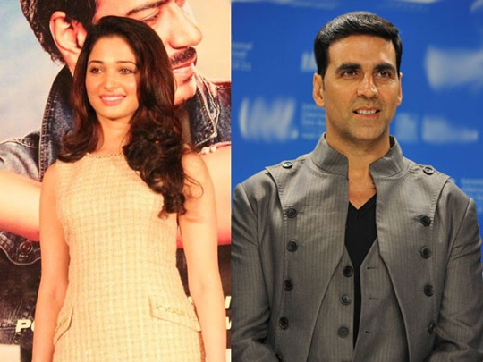 TAMANNA IS AKSHAY'S NEW GIRL