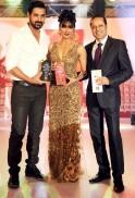 Times Group MD Mr Vineet Jain, John Abraham. Chitrangada