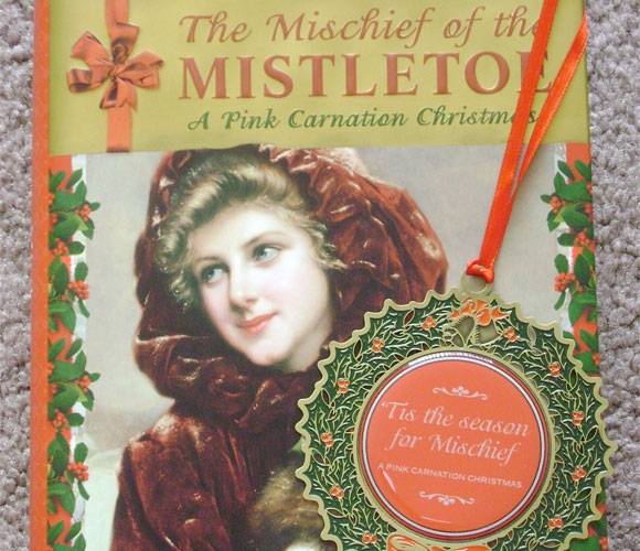 4. The Mischief of the MistletoeBy Lauren WilligThe hero of Lauren Willig's Pink Carnation series is out for yet another romantic stint. He is wooing Arabella, a lady who is quite spirited. The book will make you laugh and at the same time supply an abundant dosage of romance.