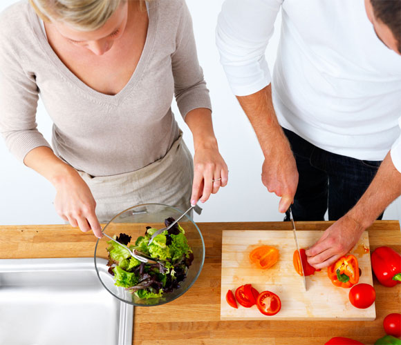 Cook Together - Culinary activities tend to bring out the best in most of us – or so you may begin to believe and enact. Make this act the initiation of doing more household chores together. In case you're not married yet, this could still spell the strong point of your relationship.