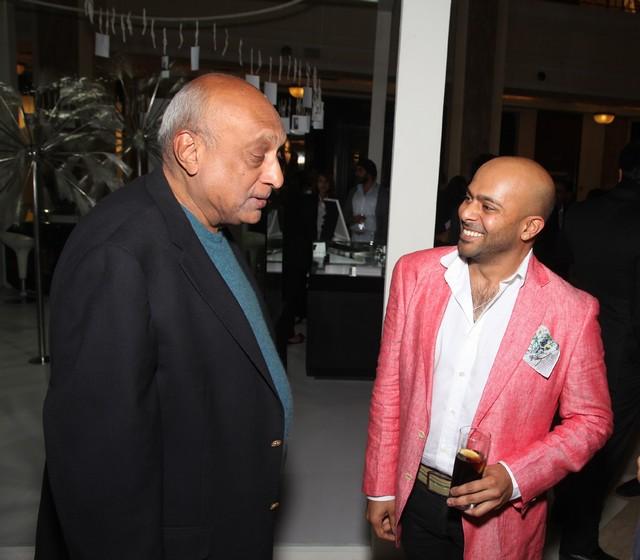 Bhaichand Patel with Magandeep Singh