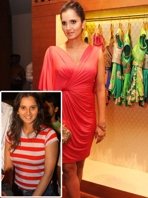 Sania Mirza: Sania Mirza was on the plumper side when she got married. She then lost weight and has gained a few pounds recently again. Sania, we thought you know how important it was to stay fit.