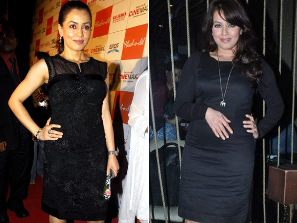 Mahima Chaudhry: Mahima who was fit even after getting married was recently spotted with a little bit of flab. She was also seen posing with a hand on her tummy. What are you hinting at Mahima? Is the stork on its way?