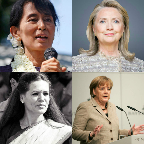 The recent times have seen an advent of women in the world of politics the world over. Let's have a look at these powerful and influential women who're all set to change the face of the world with their political views!