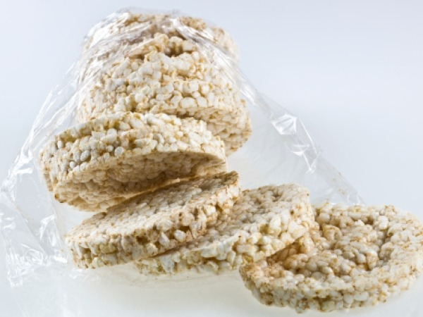 Healthy Gluten Free Snack # 4: Rice crackers