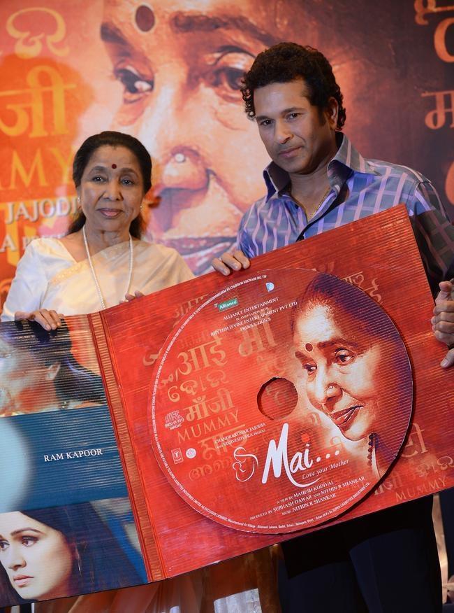 Sachin Tendulkar @ Music Launch of 'Mai'