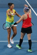 Sania Mirza-Mattek lift Brisbane title