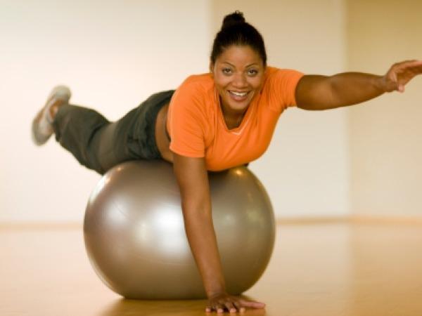 Leg Raise: Prone over Stability Ball