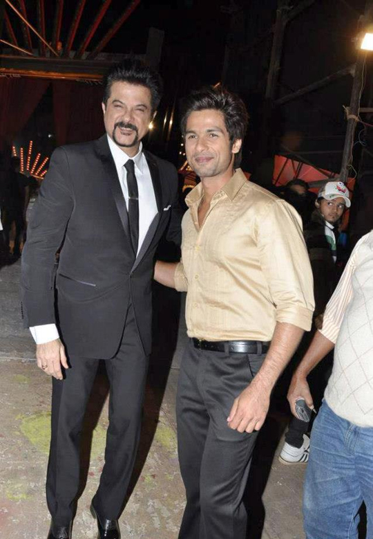 ANIL KAPOOR AND SHAHID KAPOOR