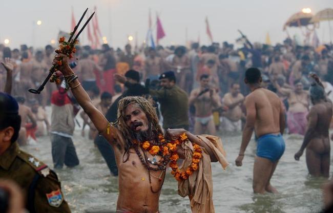 INDIA-RELIGION-FESTIVAL-KUMBH-HEALTH-SCIENCE-FILES