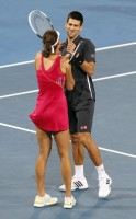 Djokovic, Ivanovic Fun Moments