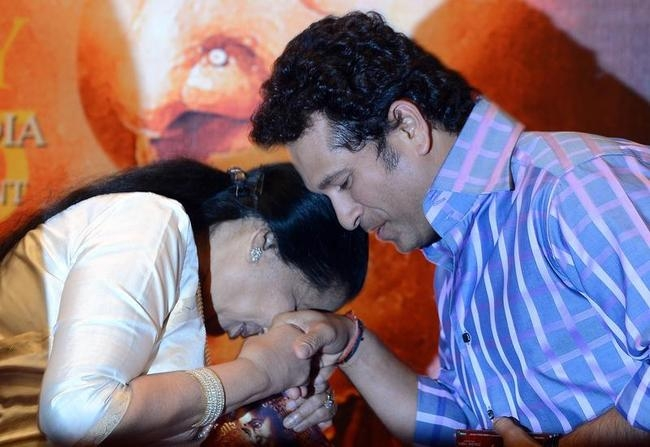 Sachin Tendulkar @ Music Launch of 'Mai'