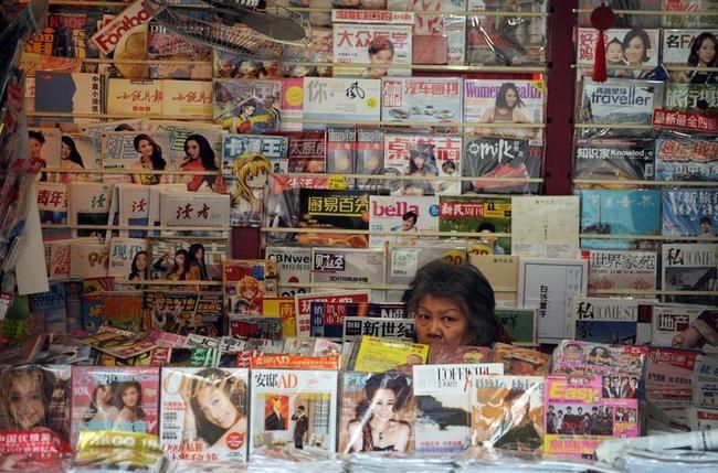 CHINA-MEDIA-CENSORSHIP-POLITICS