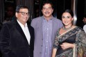 Subhash Ghai with Shatrughan Sinha and Vidya Balan