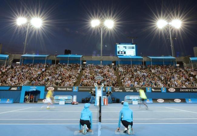 Delightful Views from Australian Open