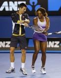 Djokovic & Serena Dance Gangnam Style