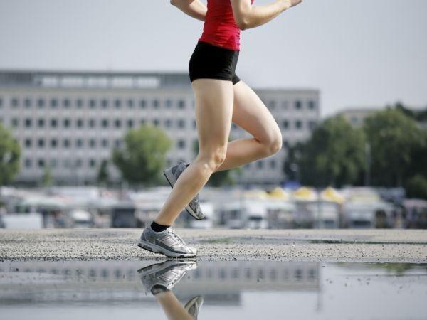 Running surface