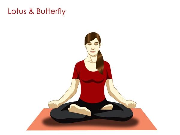 Butterfly Pose (BaddhaKonasana)