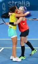 Sania Mirza-Mattek lift Brisbane title