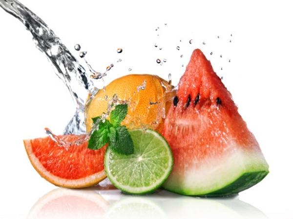 Drink fresh fruit juices