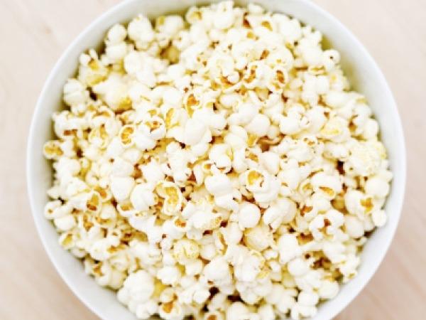 Healthy Gluten Free Snack # 9: Popcorn