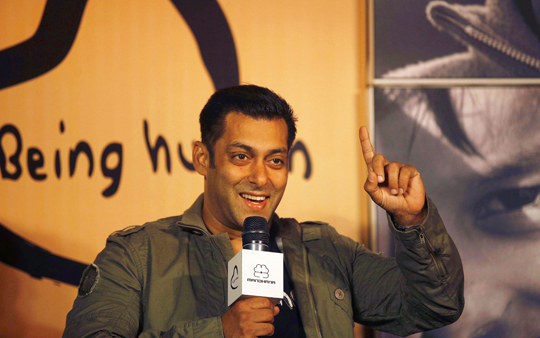 Salman launches the Being Human flagship store in Mumbai