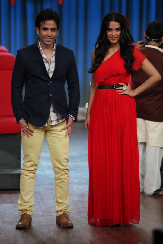 Tusshar Kapoor and Neha Dhupia