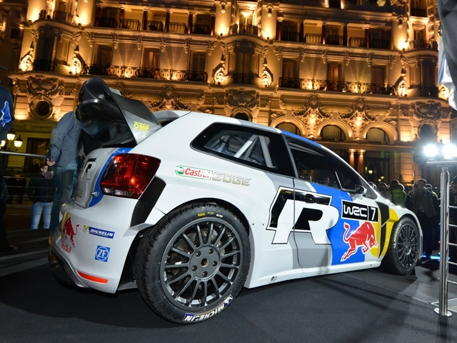 2013 Volkswagen Polo R WRC world premiere in Monaco