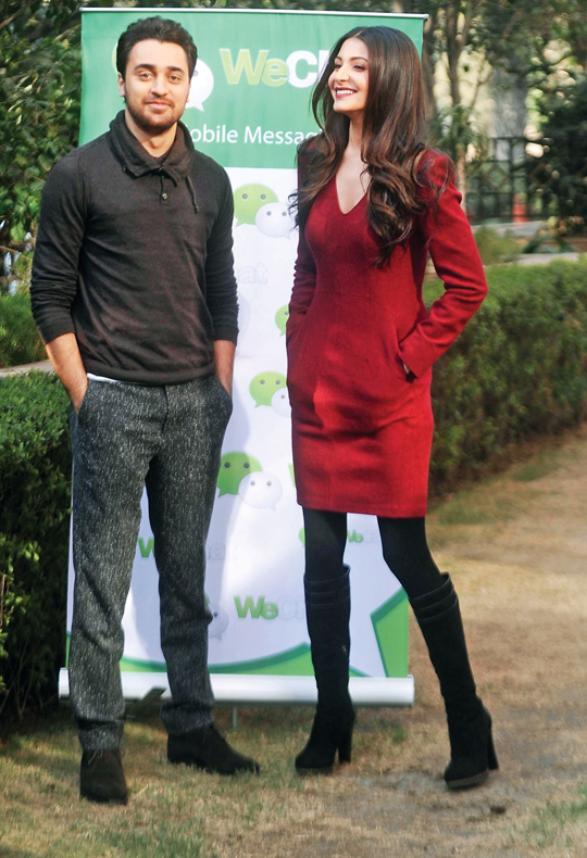 IMRAN KHAN AND ANUSHKA SHARMA