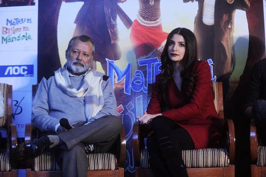 PANKAJ KAPOOR AND ANUSHKA SHARMA