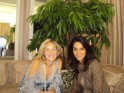 MALLIKA SHERAWAT WITH SHARON STONE