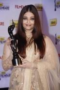 Aishwarya Rai Bachchan at a press conference announces the 58th Idea Filmfare Awards 2012