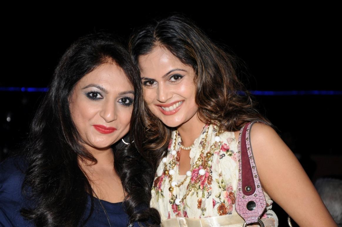 Bhavana Dahima with Nandini Singh