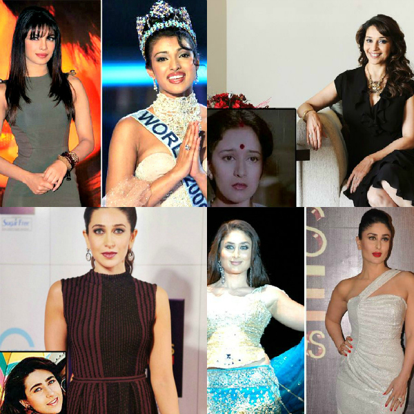 Enough has been said about Bollywood actresses and their gorgeous looks. But, the past few decades have seen these celebrities undergo major transformation as far as their looks are concerned. Cosmetic surgeries and facial treatments have made them look as stunning as ever. Check out these B-Town actresses and their improved looks...
