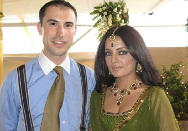 Celina Jaitley & Peter Haag