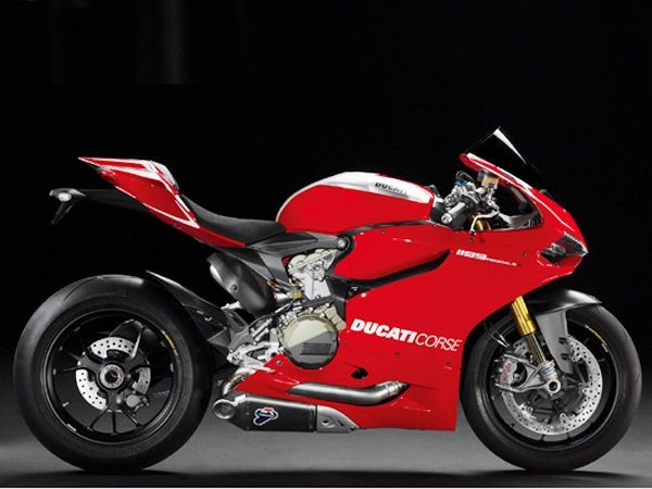 Ducati Corse 1199 Panigale RWhile this superbike will keep you waiting until the end of 2013, the Ducati 1199 Panigale R is touted to be worth your while. Racetrack inspired, complete with titanium piston rods, carbon fibre bodywork and a performance racing exhaust, the 1199 Panigale R priced at an approx Rs 25 lakh is powered by a special 90-degree V-Twin engine.Image Courtesy: Ducati