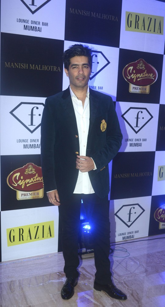 Designer Manish Malhotra launched the 2nd edition of F In Focus is association with Grazia. The event focused on how Manish Malhotra has influenced fashion throughout India and other parts of the world. over the last 23 years.