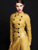 Burberry trench in Maheshwari silk
