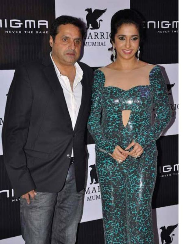Krishika and Sunil Lulla