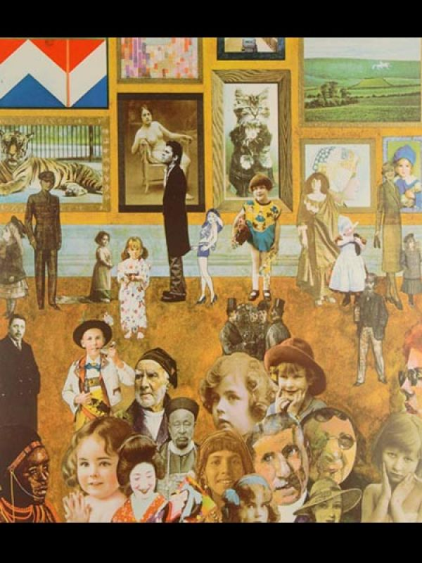 Academy by Peter Blake: This silkscreen limited-to-150 edition is one of the more interesting artworks in the list. Blake's caricature take on this college-based composition features a spectator's point of view at The Royal Academy. Signed, sealed, delivered, this one's sure to evoke varied interpretations.