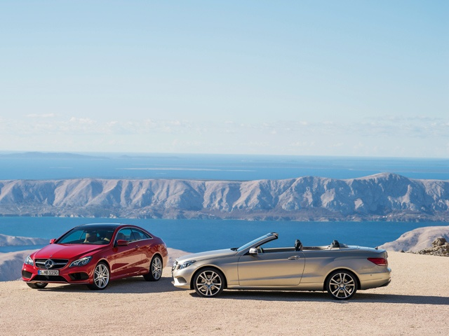 Like the Saloon and Estate models, Mercedes-Benz has completely revised the Coupe and Cabriolet members of the E-Class family. Visually, both the Coupe and Cabriolet draw on the new Mercedes-Benz design idiom. Exclusive, luxurious equipment for sublime refinement underlines the close affinity with the E-Class family.