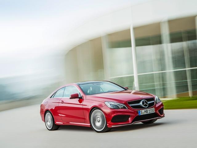 Mercedes-Benz E-Class Coupe, E 500, model year 2013, exterior