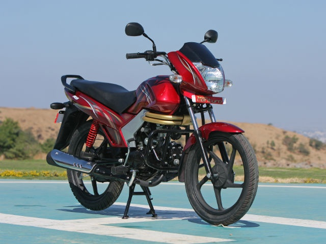 The Centuro is Mahindra's latest offering in the motorcycle segment and it plans to market it as a premium 110cc bike. Powered by the MCi-5 engine producing 8.6PS of power, the bike is loaded with features like central locking, anti-theft system with an engine immobiliser, flip-key etc.