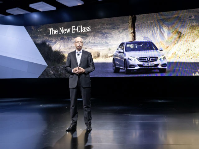 Mercedes-Benz at the North American International Autoshow 2013 in Detroit Dr. Dieter Zetsche, Chairman of the Board of Management of Daimler AG and Head of Mercedes-Benz Cars, at the Mercedes press conference in Detroit.