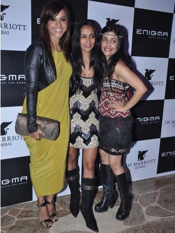 Manasi Scott, Suchitra Pillai and Shibani Kashyap