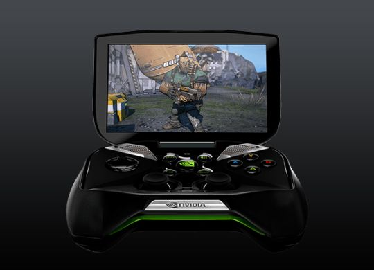 Nvidia, the makers of Graphics cards and Tegra Chipset that's been powering your smart-phones and tablets, has given the gaming industry the one-two punch thats needed, with the announcement of Project Shield. A codename for a new handheld Android based gaming console that has a flip open screen, glossy finish and looking seriously sexy. Featuring a popup 5 inch display like the PS Vita, multi-touch of course, controller, speakers everything integrated.